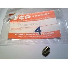 Suzuki GSXR1100 86-88 throttle body screw adjuster 13650-47070