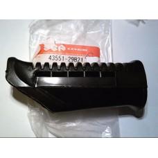 Suzuki GS500E 89-96 Footrest rubber  43551-29B21