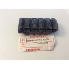 Honda NT650 Deuville 1998, ST1100 Footrest Rubber 50661-MT3-000