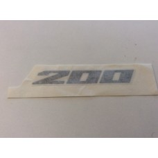 "Suzuki UH200 Burgman 2007 ""200"" Emblem 68131-03H20-YJH"