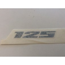 "Suzuki Burgman 125.    ""125"" Emblem 68131-03H10-YJH"