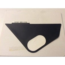 Honda  XR600R 1988-1992 Air Cleaner Label 87507-MN1-670