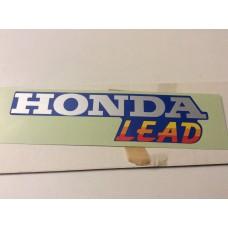 "Honda NH80MD 1983-1984 ""Honda Lead "" Decal 87127-GC8-610ZD"