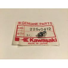 Kawasaki ar50 ar80 ke125 nos screw, pan-wsp-cross meters/ generator 225B0412