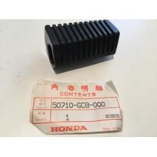 Honda nh50 nh80 rubber, rh pillion footrest 50710-gc8-000