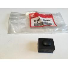 Honda cb250 vfr750f 1989 rubber, stand stopper 50505-kn7-670