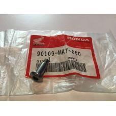 Honda cbr1100xx blackbird titanium fairing bolt 5x20 90109-mat-000