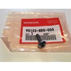 Honda vfr800 cbr600 fairing screw, pan 5x20 90103-mbg-000