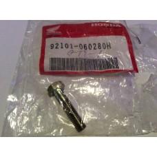 Honda bolt, hex 6x28 92101-060280h