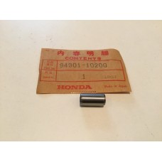 Honda c177 scrambler atc110 atc125 pin, dowel (10x20) 94301-10200