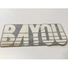 Kawasaki bayou 220 4x4 mark, fr fender cover 56050-1187