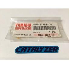Yamaha dt125r oil tank decal 4fu-21781-00