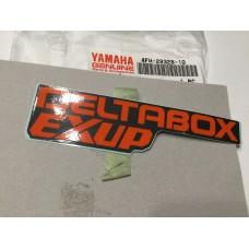 """Yamaha """"DELTABOX EXUP""""  emblem 4fm-28328-10"""