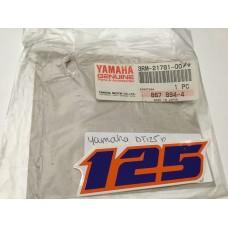 Yamaha dt125 oil tank decal 3rm-21781-00