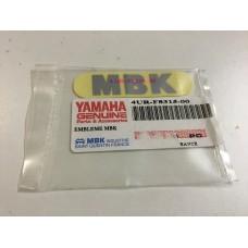 Yamaha cw50rs fender decal 4ur-f8315-00