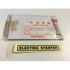Honda c90 c70 mark, start nh-1 87129-ga7-700za