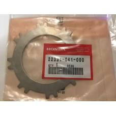 Honda c70m ca100 cl70 xl70 sl70 plate c, clutch 22331-041-000